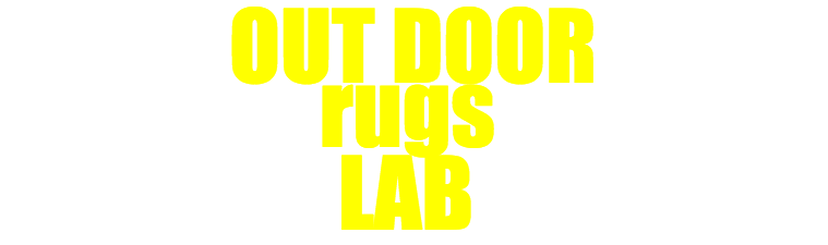 out door rugs lab